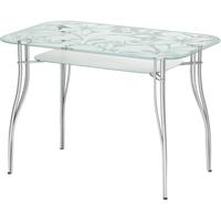 Стеклянный стол (прямоугольный)