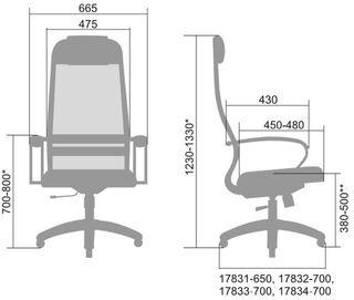 """Компьютерное кресло """"Галакси-Лайт"""""""